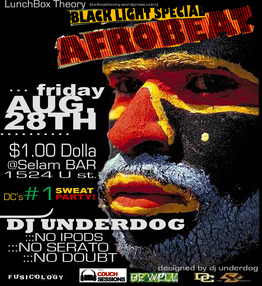 Afrobeat Fridays Flyer