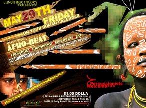 Afrobeat Fridays flyer 3